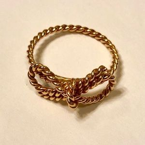 Tiffany & Co. 18K Twisted Bow Ring